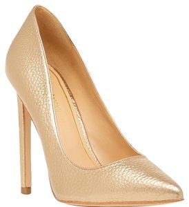 Enzo Angiolini Bronze Pumps