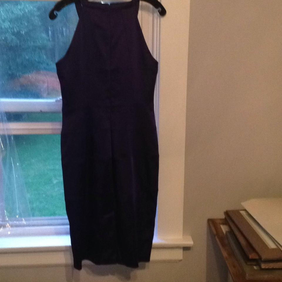 Jax purple mid length cocktail dress size 6 s tradesy jax purple cocktail dress ombrellifo Gallery