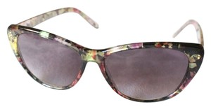 Free People Floral Motif Cat-Eye Sunglasses