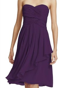 David's Bridal Bridesmaid Short Dress