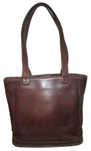 Coach Leather Vintage Tote in brown