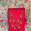 Lilly Pulitzer Lilly Pulitzer Gorgeous Gold Coral Statement Necklace Image 11
