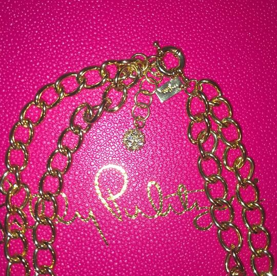 Lilly Pulitzer Lilly Pulitzer Gorgeous Gold Coral Statement Necklace Image 2