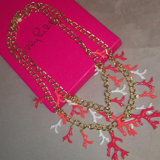 Lilly Pulitzer Lilly Pulitzer Gorgeous Gold Coral Statement Necklace Image 5