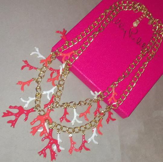 Lilly Pulitzer Lilly Pulitzer Gorgeous Gold Coral Statement Necklace Image 7