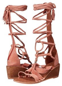 Free People Rust Sandals