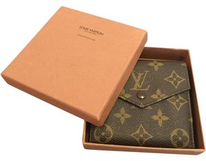 Louis Vuitton France Vintage Monogram Vier Three-fold wallet with coin pocket