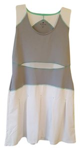Athleta White, Grey, Mint green tennis/golf Dress
