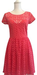 Nicole Miller short dress Pink on Tradesy