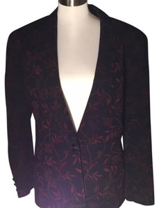 Juliana Collezione Black and red Blazer