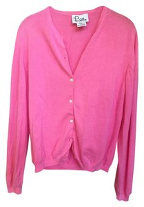 Lilly Pulitzer Cardigan Buttons Cold Sweater
