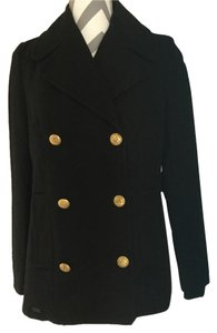 Zara Pea Wool Pea Coat
