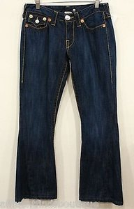 True Religion Joey Big T X Flare Leg Jeans