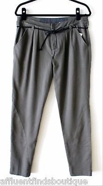JOE'S Jeans Joes Olive Tapered Leg Drawstring Belted Or Pants