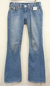 True Religion Joey Big T Light Wash Style 24503nbt Or Flare Leg Jeans