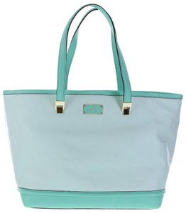 Kate Spade Taren Oliver Street Fresh Air Tote in blue