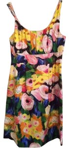 J.Crew Floral Painterly Knee-length Dress