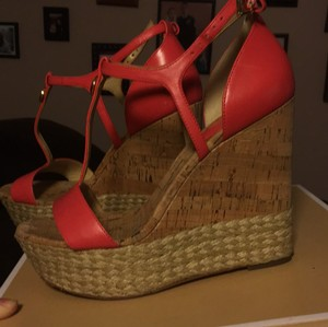Michael Kors Watermelon Wedges