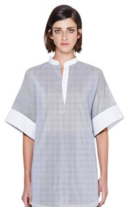 3.1 Phillip Lim Black And White Stripes Tunic