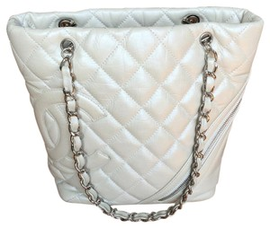 Chanel Tote in Pearl White