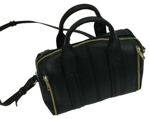 Forever 21 Black, Gold Messenger Bag