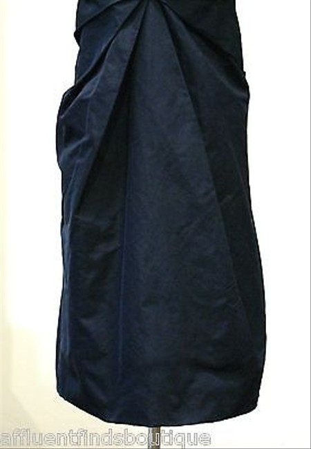 Marc Jacobs short dress Blue Dark Bluenavy Silk Taffeta on Tradesy