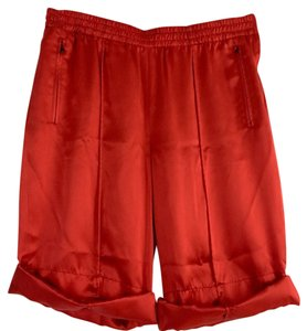 Prada Dress Shorts Red