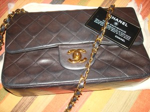 Chanel Lambskin Matelasse Shoulder Bag