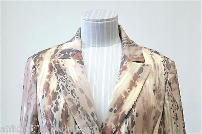 Peace of Cloth Peace Of Cloth Tanbeige Printed Blazerjacket Style 18j030