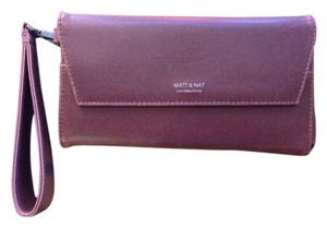 Matt and Nat Vegan Wallet Clutch Wristlet in Brown