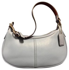 Coach Hampton Vintage Leather Hobo Bag