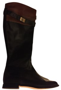 Cole Haan Black with brown top Boots