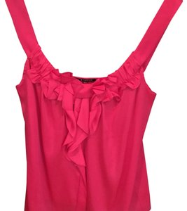 Elie Tahari Top Bright Pink / Fusia