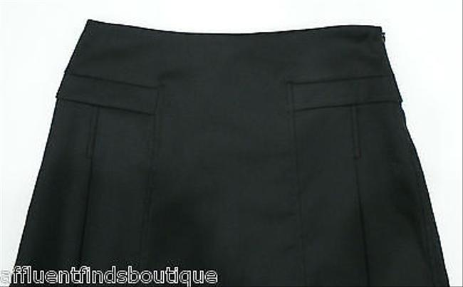Luca Luca Little Pleated Or Skirt Black