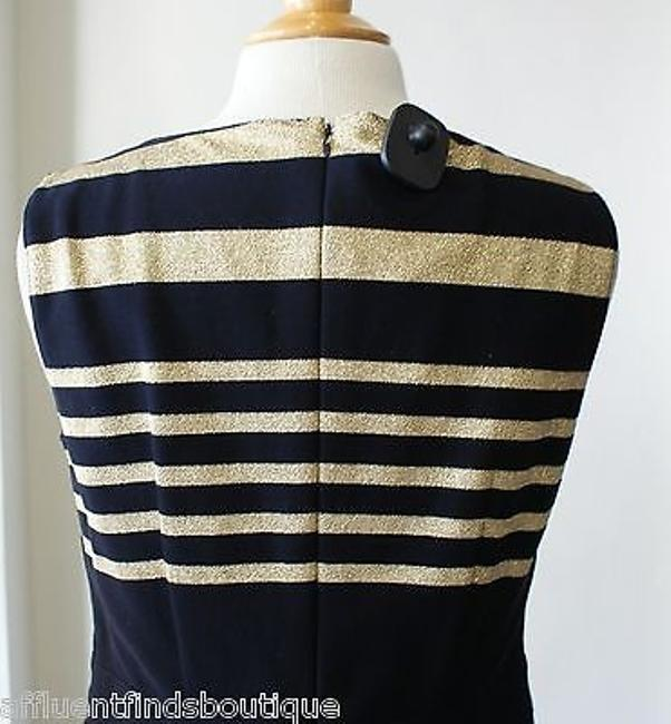 Basler And Gold Stripe Sheath 68 Dress