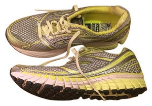 Brooks Running Ghost6 Sunny Lime/Silver/Green Glow Athletic