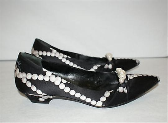 Hollywould W Pearls Fabric Heels Or Blacks Pumps