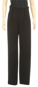 Giorgio Armani Wide Leg Pants Black