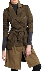 BCBGMAXAZRIA Fall Military Trench Coat