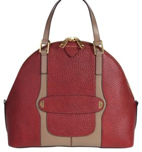 Marc Jacobs Satchel in Bordeau And Taupe