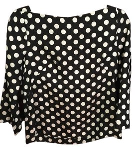 J.Crew Top Black and Cream