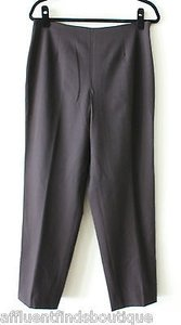 Other Leggiadro Classic Side Zip Dark Pants