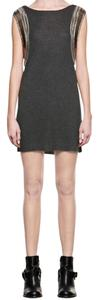 AllSaints short dress Charcoal on Tradesy