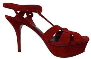 Saint Laurent Red Sandals