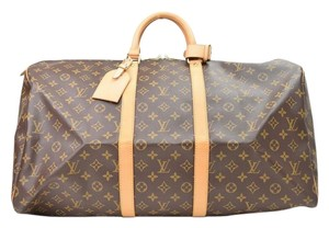 Louis Vuitton Keepall 55 Vuitton Keepall Keepall Vuitton Keepall 55 55 Monogram Travel Bag