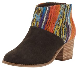 TOMS Chocolate Suede Boots