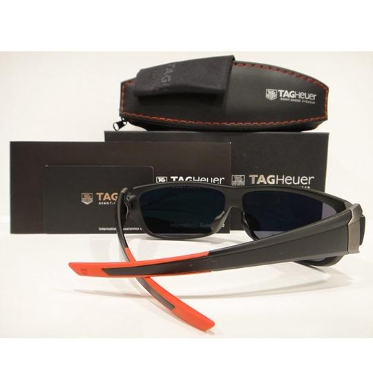 TAG Heuer Tag Heuer 9225 Racer 2 Sunglasses 101 Matt Black / Red Authentic New Image 3