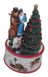 Enesco Vintage Enesco Christmas Music Box