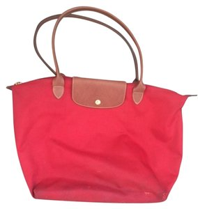 Longchamp Ruby Red Travel Bag