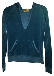 Juicy Couture Velour Juicy Classic Track Sporty Sweater